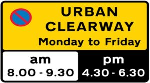 urban clearway